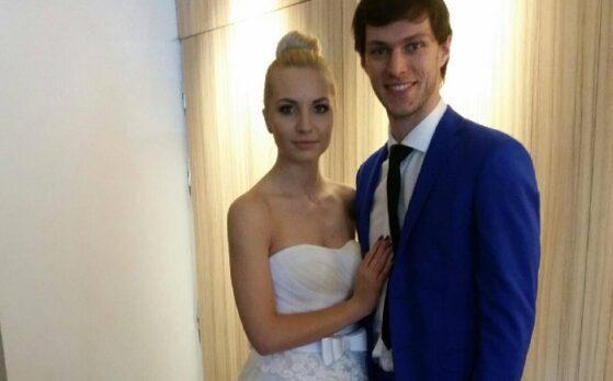 modelka i model na sesji ślubnej w Katowicach