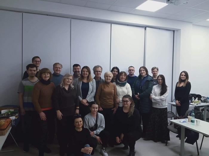 statyści w spocie społecznym w Krakowie