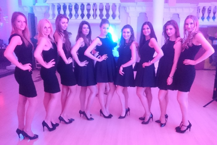 hostessy na evencie w hotelu Windsor