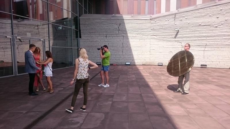 sesja zdjęciowa z modelami w Warszawie