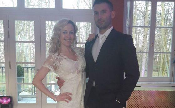 Para ślubna modeli na e-vencie w Janowie Podlaskim