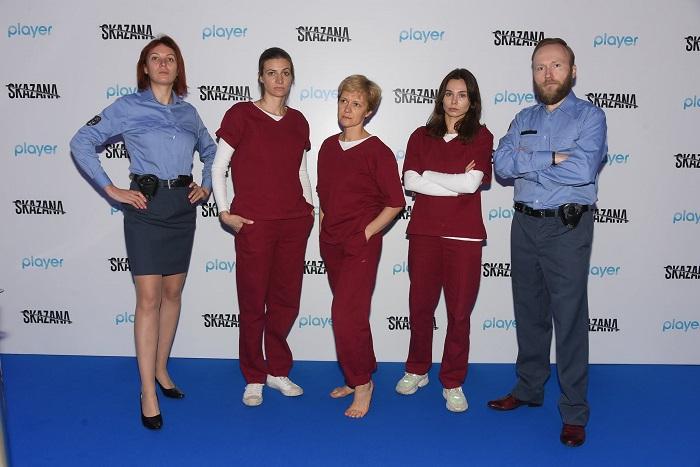 epizodyści na konferencji prasowej w Warszawie