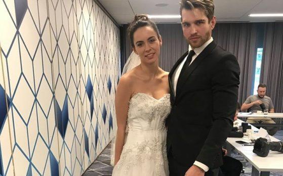 sesja zdjęciowa ślubna z udziałem modeli