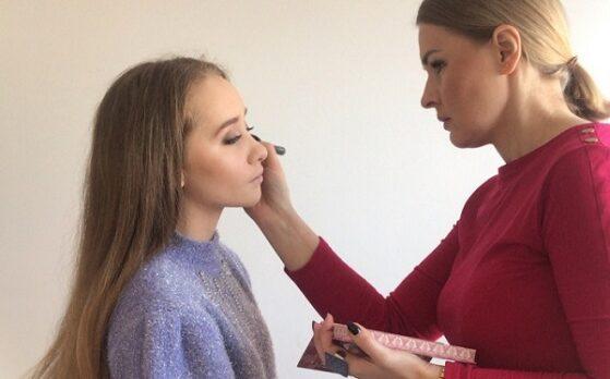 udział modelki w sesji zdjęciowej w Lublinie